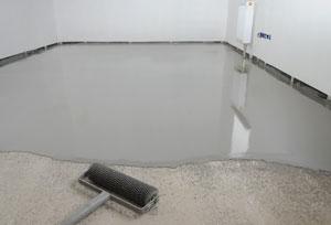 concrete decor epoxy coated floor